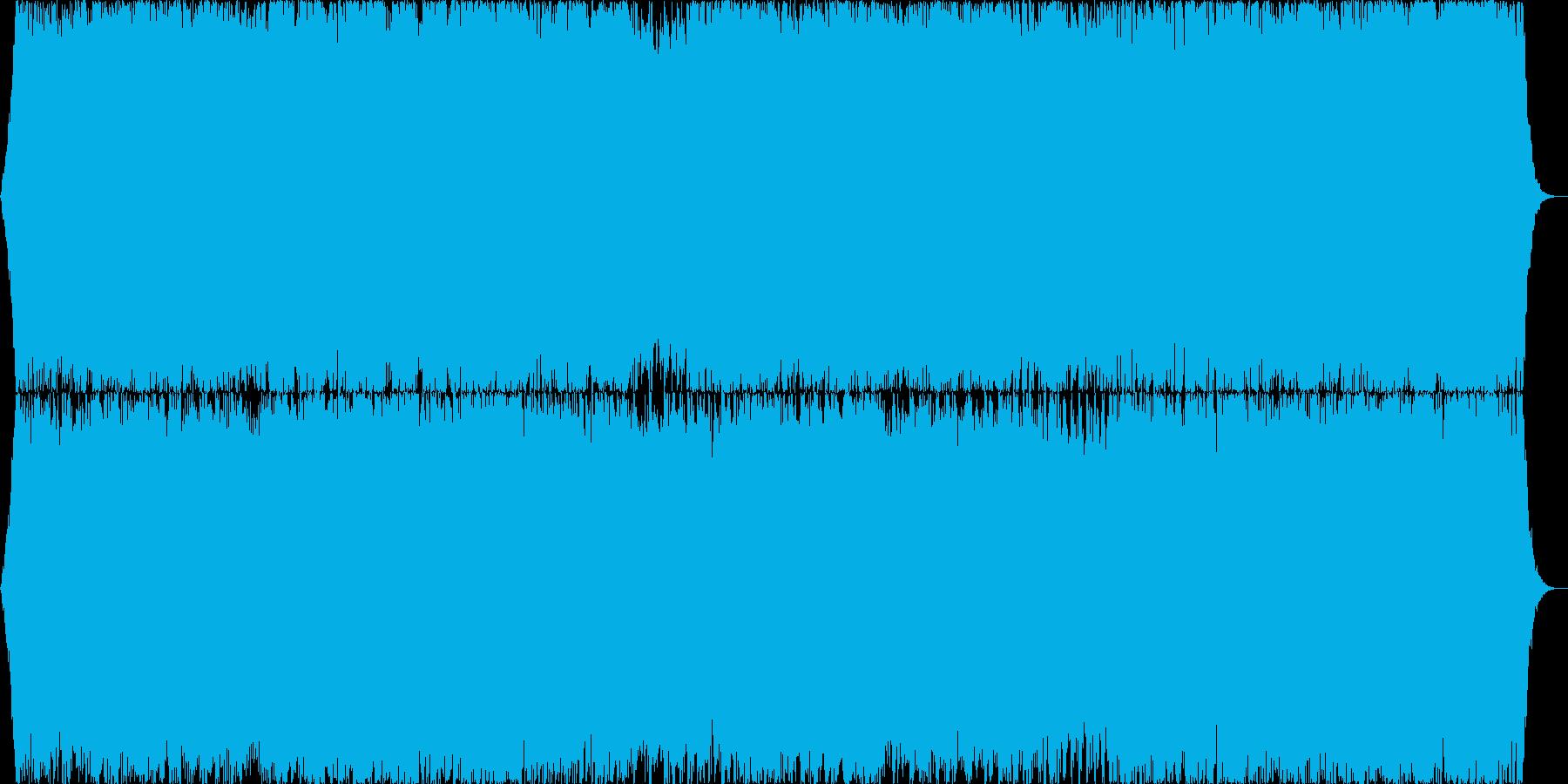 ダークファンタジーオーケストラ戦闘曲43の再生済みの波形