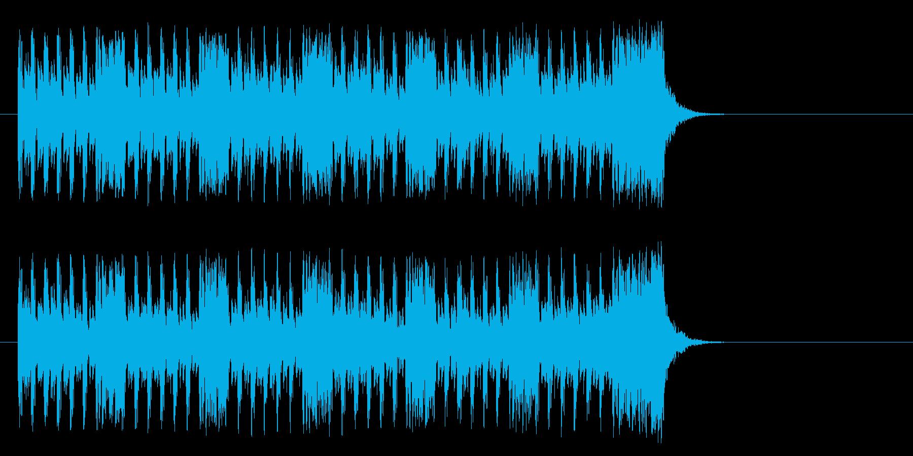 可愛い子犬のようなポップ(Aメロ)の再生済みの波形