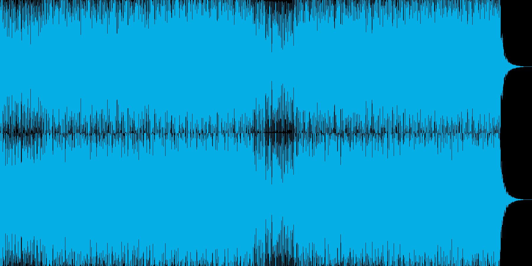 EDMポップで明るいクラブ系-61の再生済みの波形