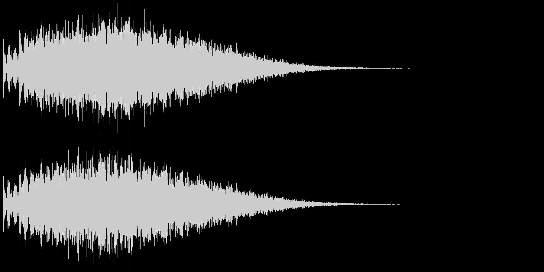 ピュルル…(流れ星、かわいい、キラキラ)の未再生の波形