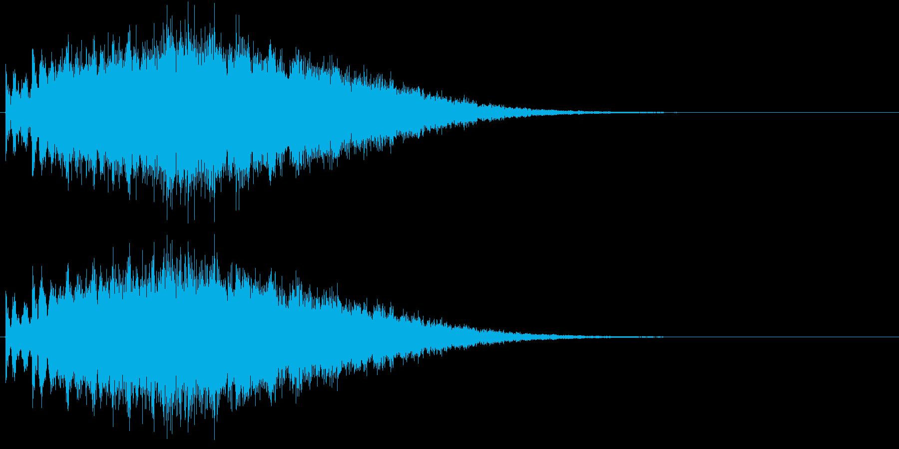 ピュルル…(流れ星、かわいい、キラキラ)の再生済みの波形