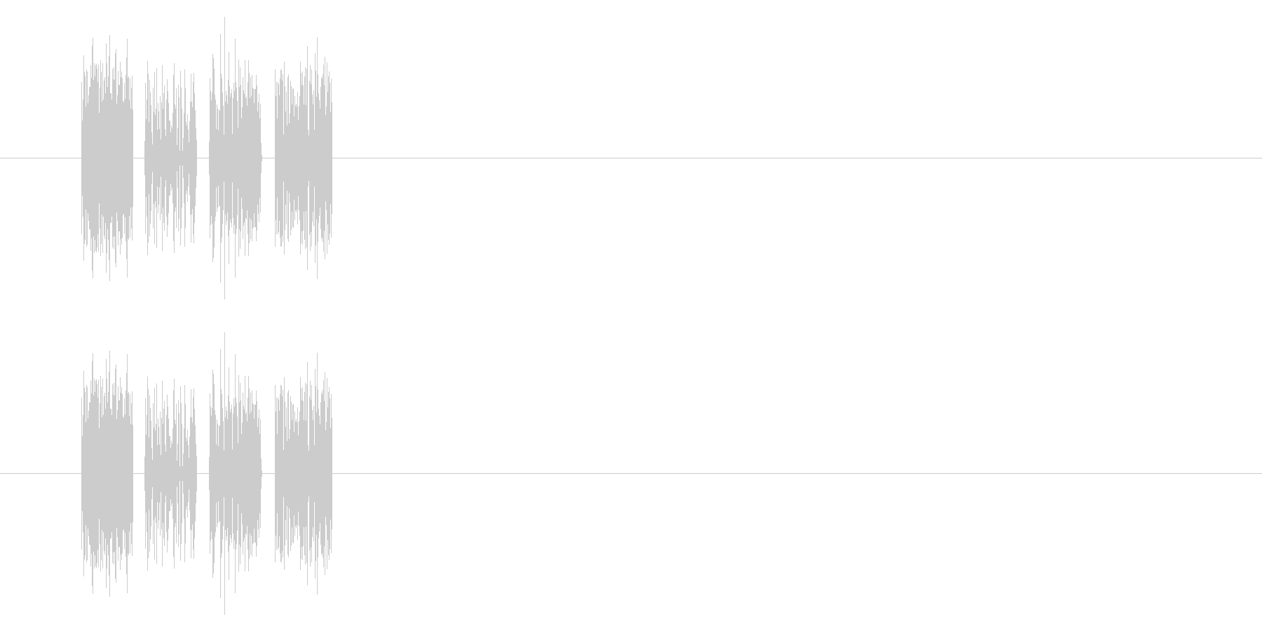 SNES-RPG02-10(逃げる)の未再生の波形