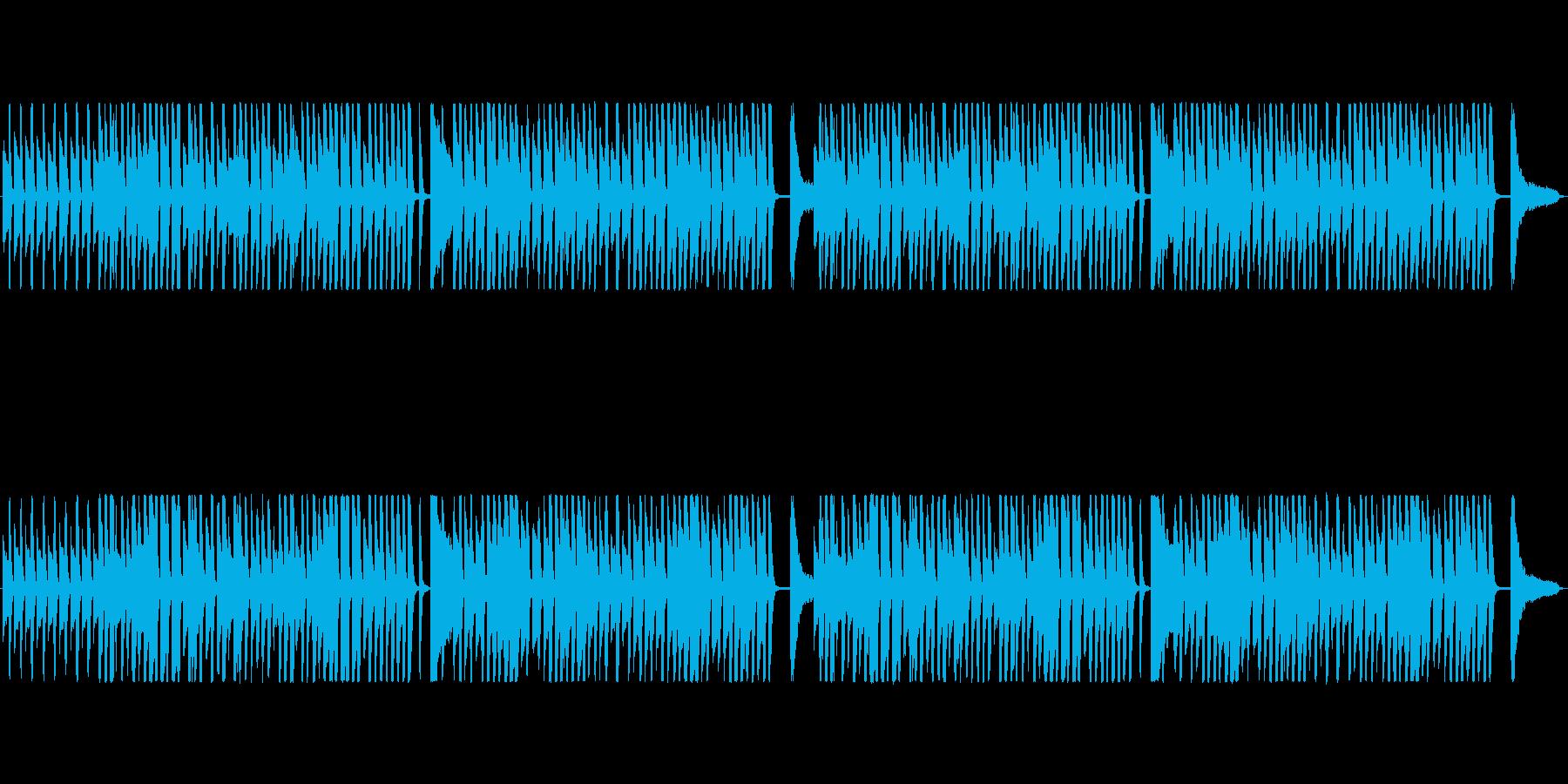 軽快・ハイテンポなラグタイムの再生済みの波形