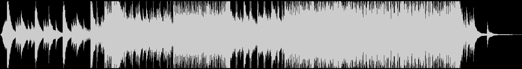 ピアノがメインの曲です。の未再生の波形