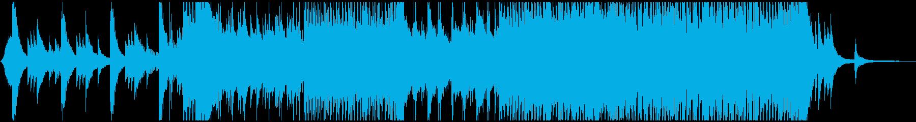 ピアノがメインの曲です。の再生済みの波形