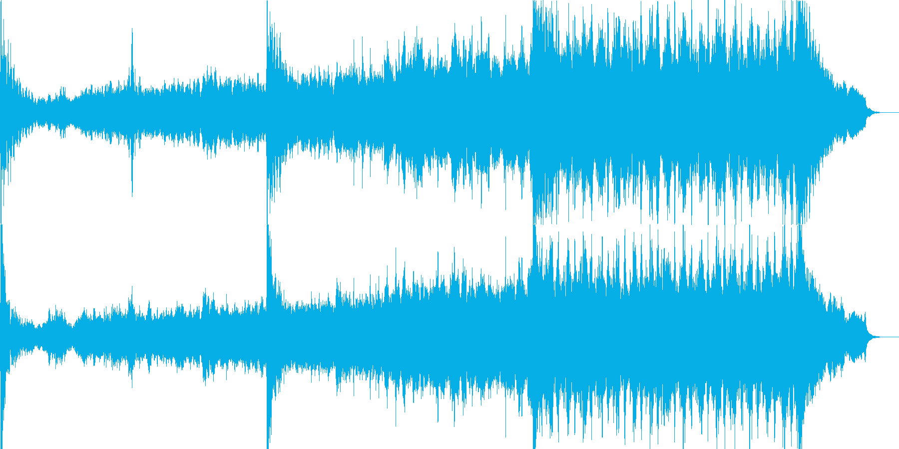 映画音楽、シネマティック映像向け-10の再生済みの波形