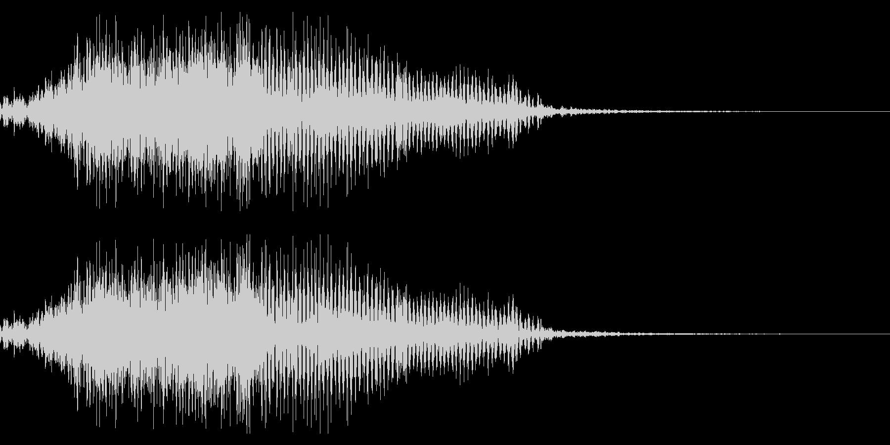 鳴き声01(ミニデビル、ブタ系)の未再生の波形