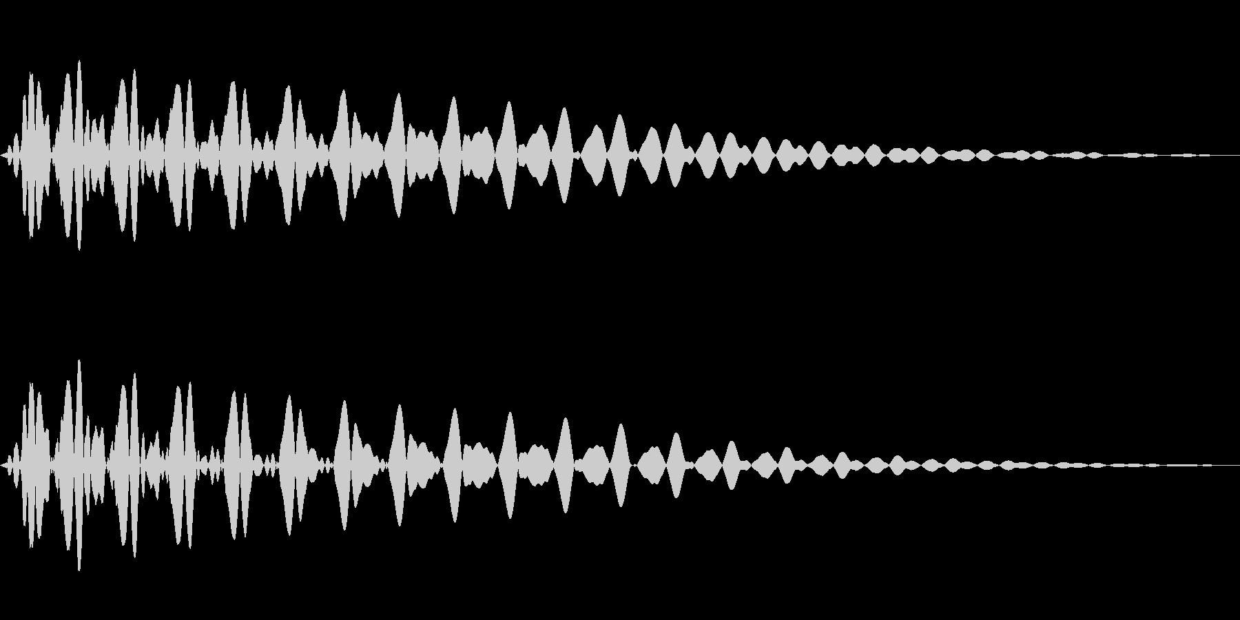 PureTouch アプリ用タッチ音67の未再生の波形