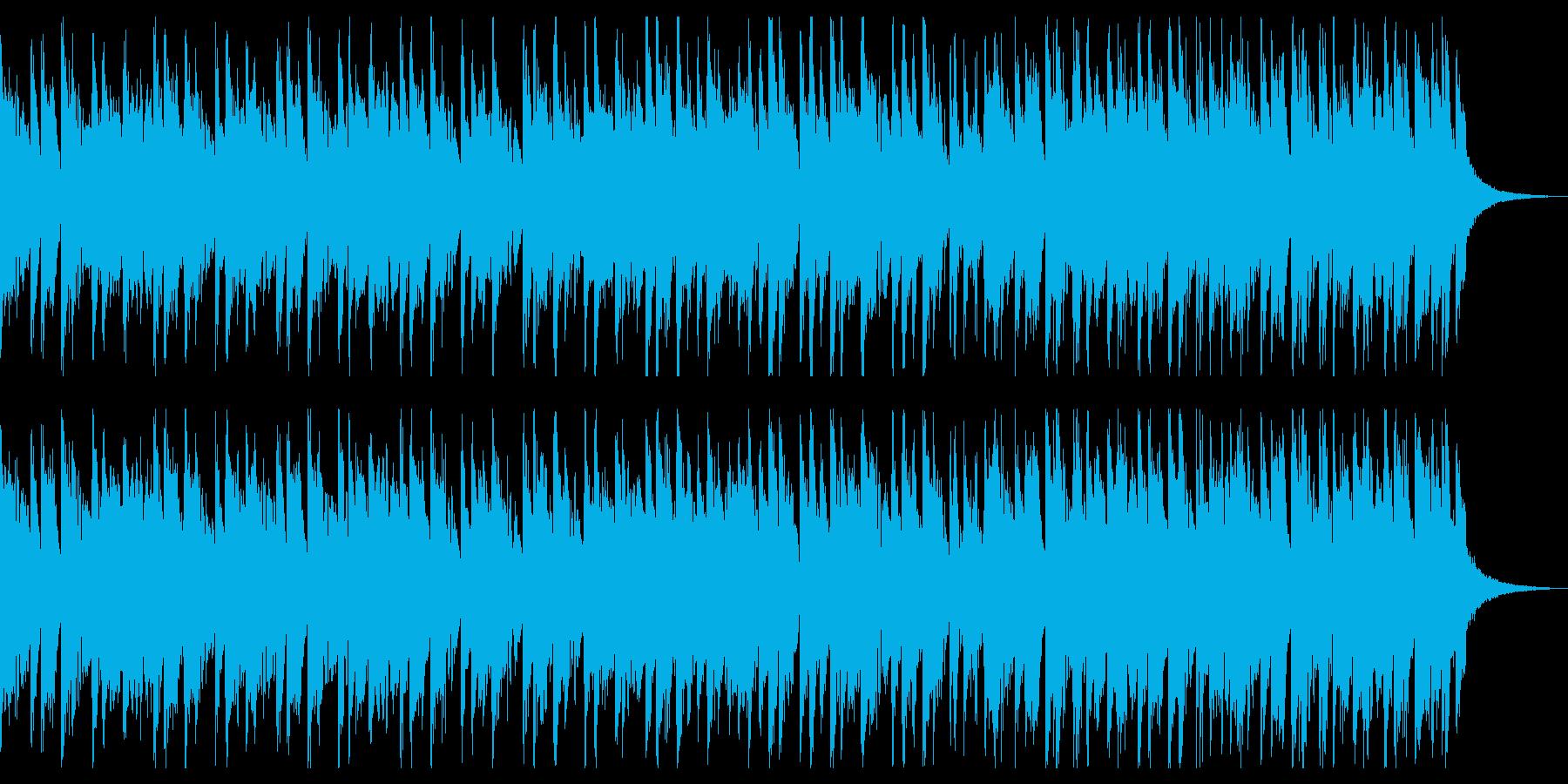 団らんや料理に、オルガンの楽しいポップスの再生済みの波形