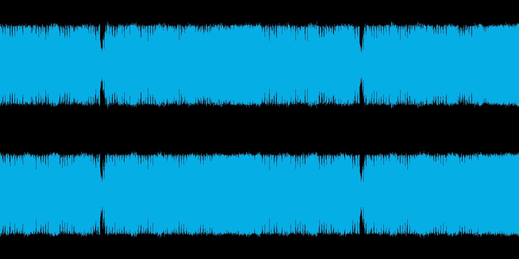 緊迫感のあるプログレ変拍子ボス系の曲<…の再生済みの波形