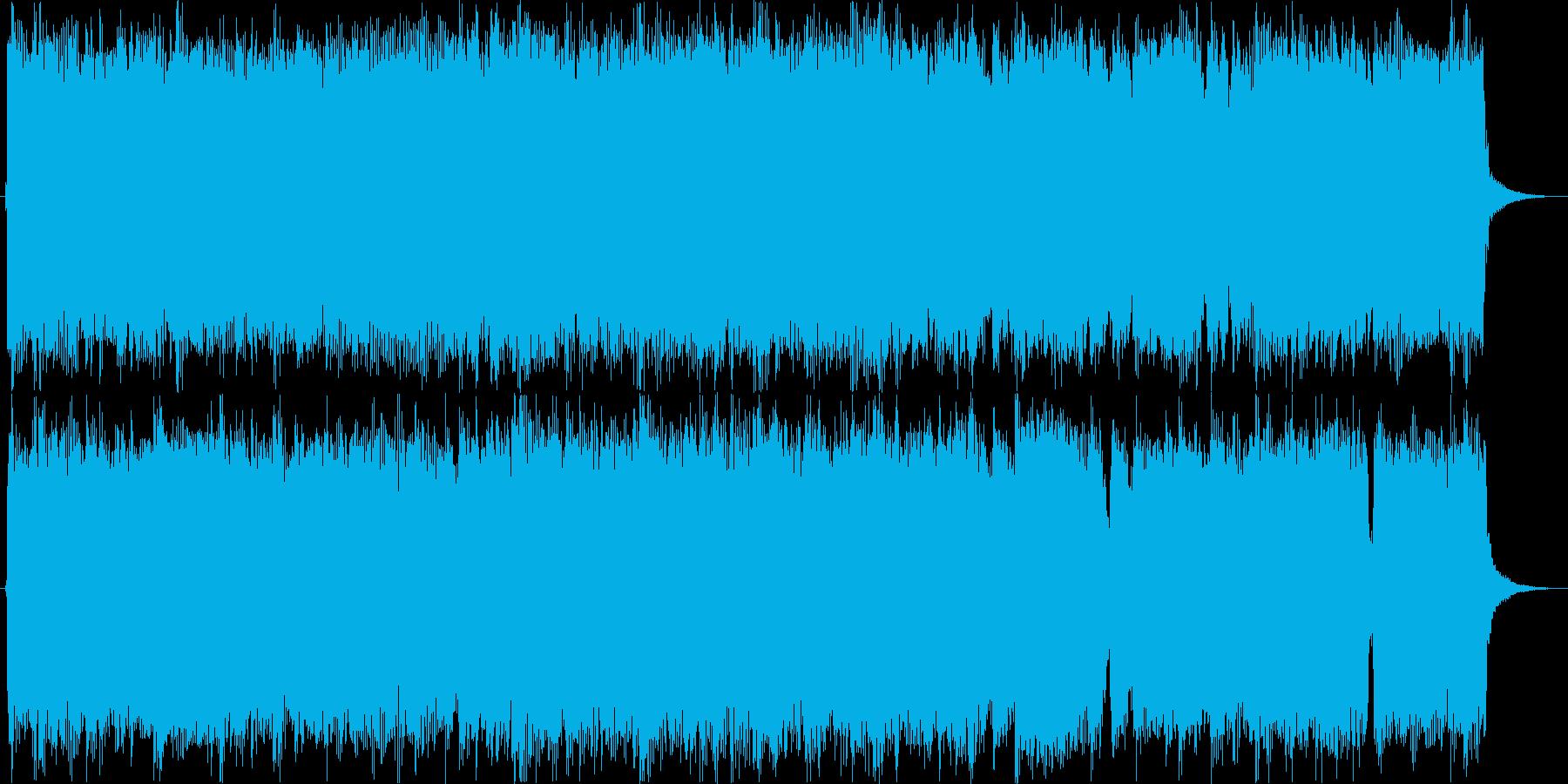 メタル 悪 ジングルの再生済みの波形