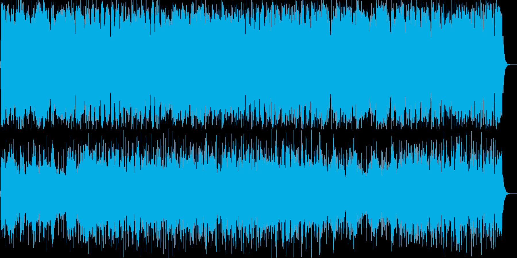 のどかでおしゃれなラウンジ系BGMの再生済みの波形