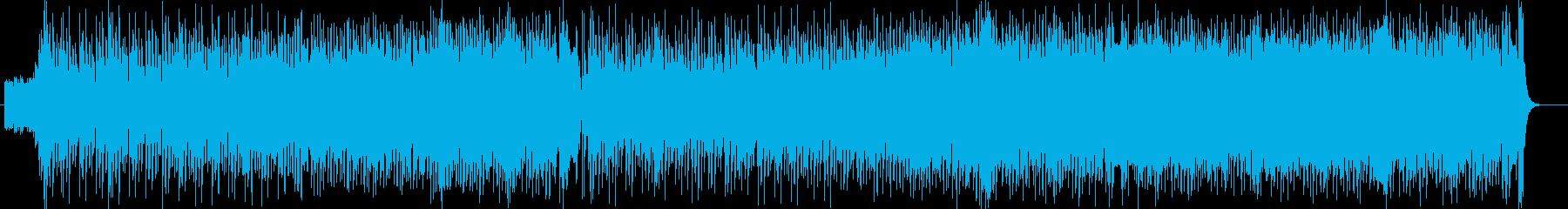 エネルギッシュなパワーあふれるロックの再生済みの波形
