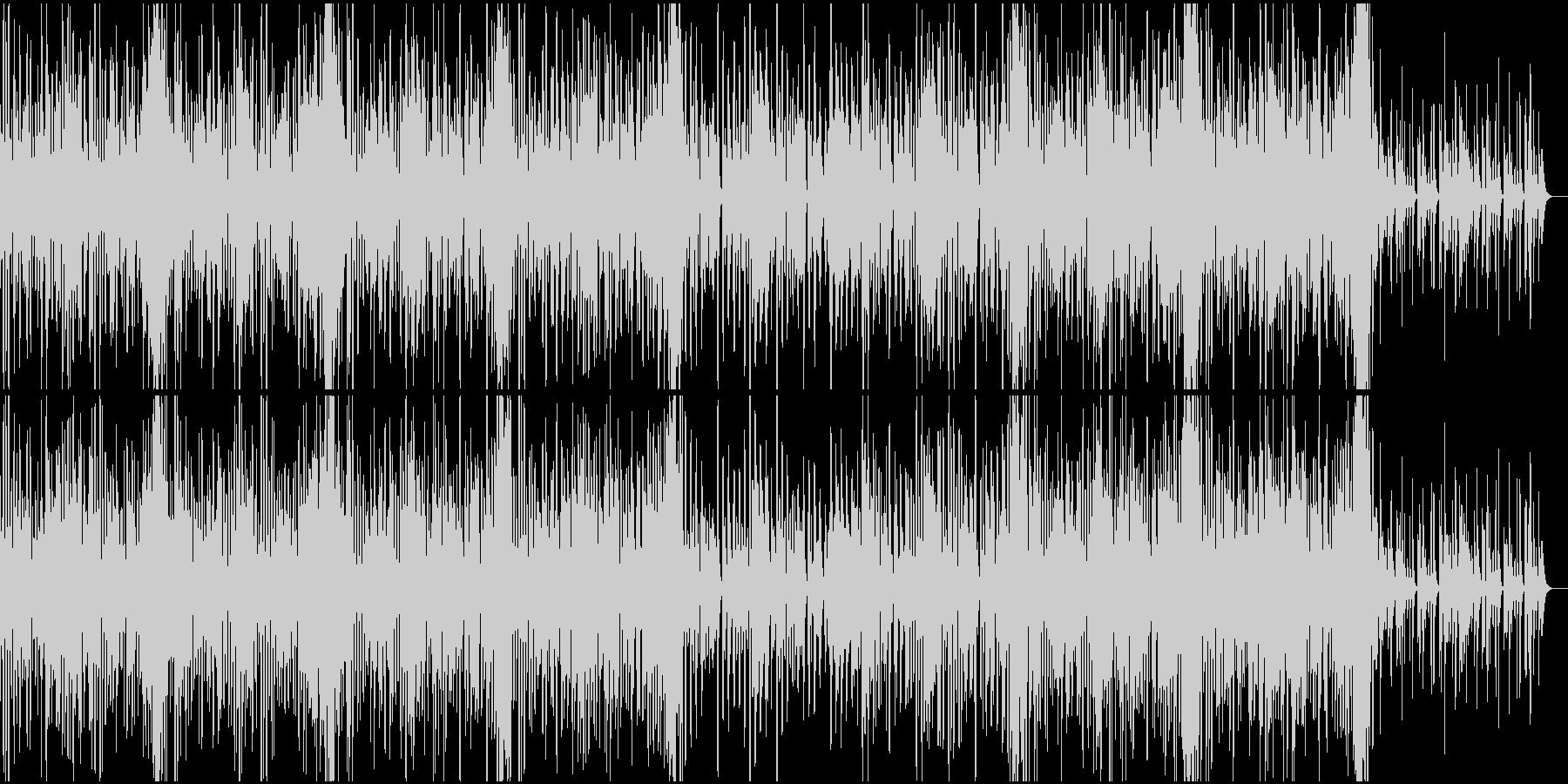 楽しい感じのエレクロトポップスの未再生の波形