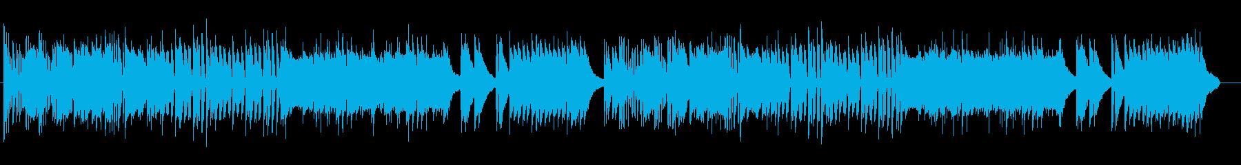 鉄琴とピアノによる懐かしい感じのポップスの再生済みの波形