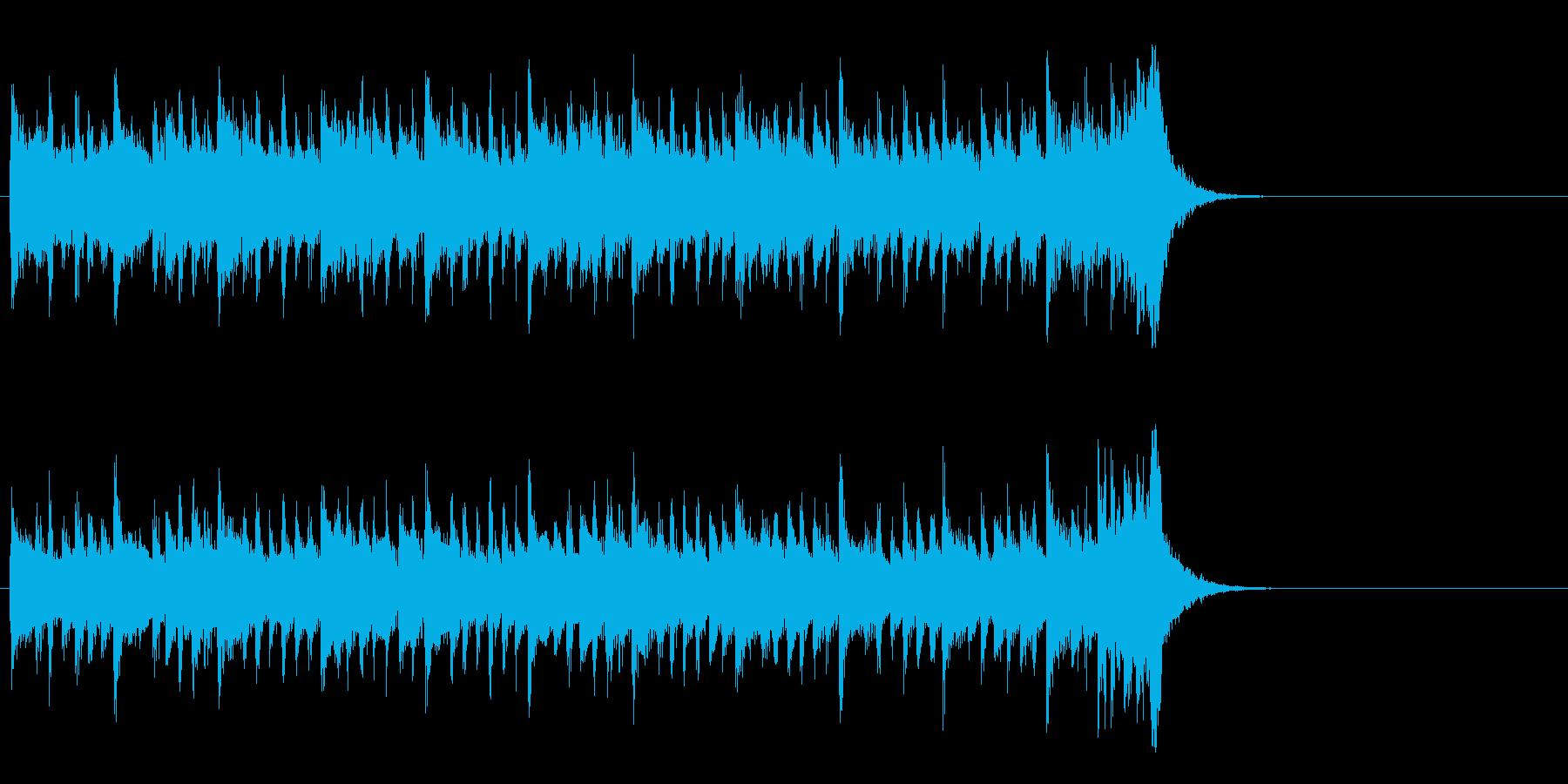 サイクリング向けポップス(イントロ)の再生済みの波形