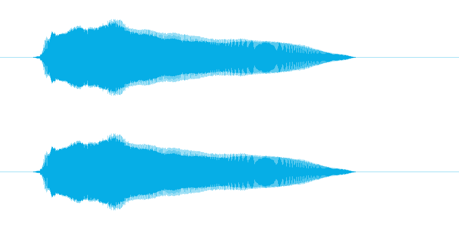 ふー!の再生済みの波形
