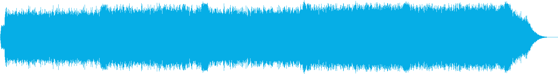 シンセの幻想的なニューエイジの再生済みの波形