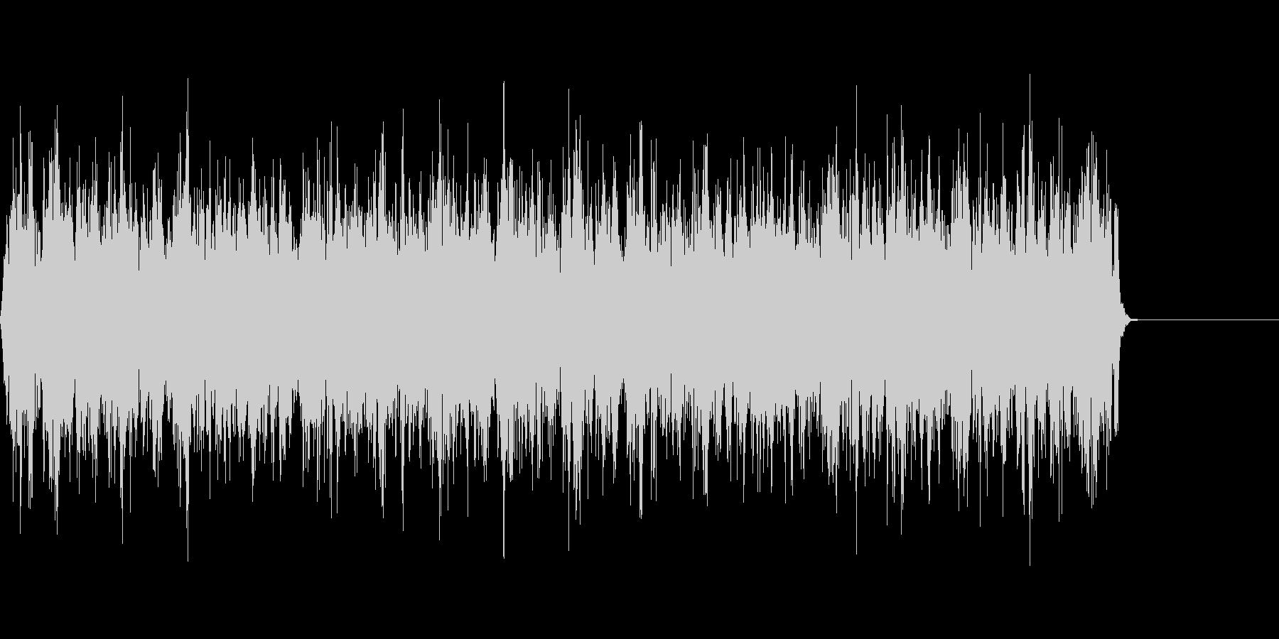 SF風のビーム音/シューティング/特撮の未再生の波形