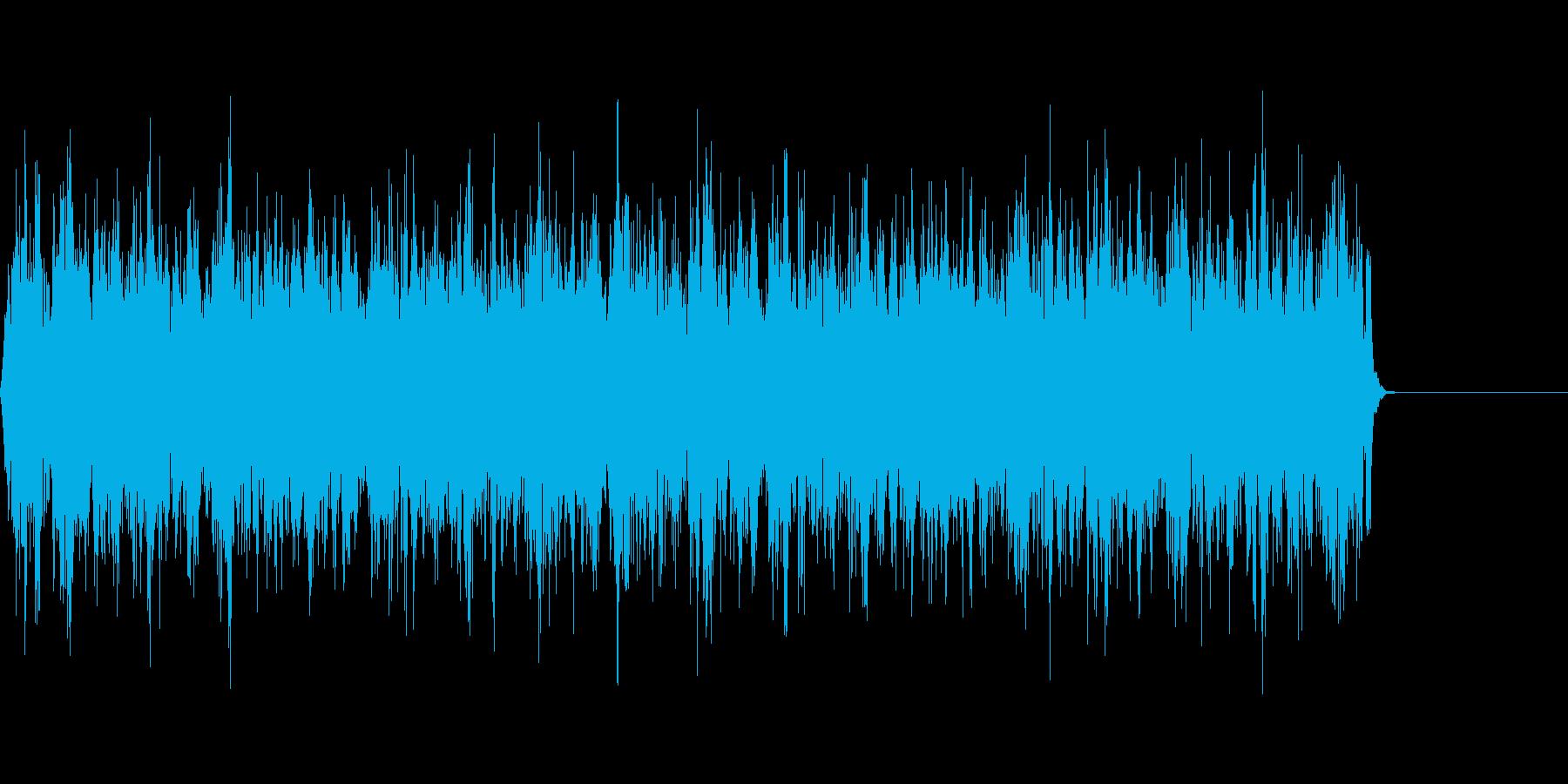 SF風のビーム音/シューティング/特撮の再生済みの波形