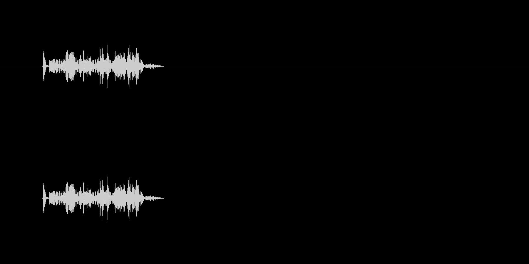 【骨折01-1】の未再生の波形