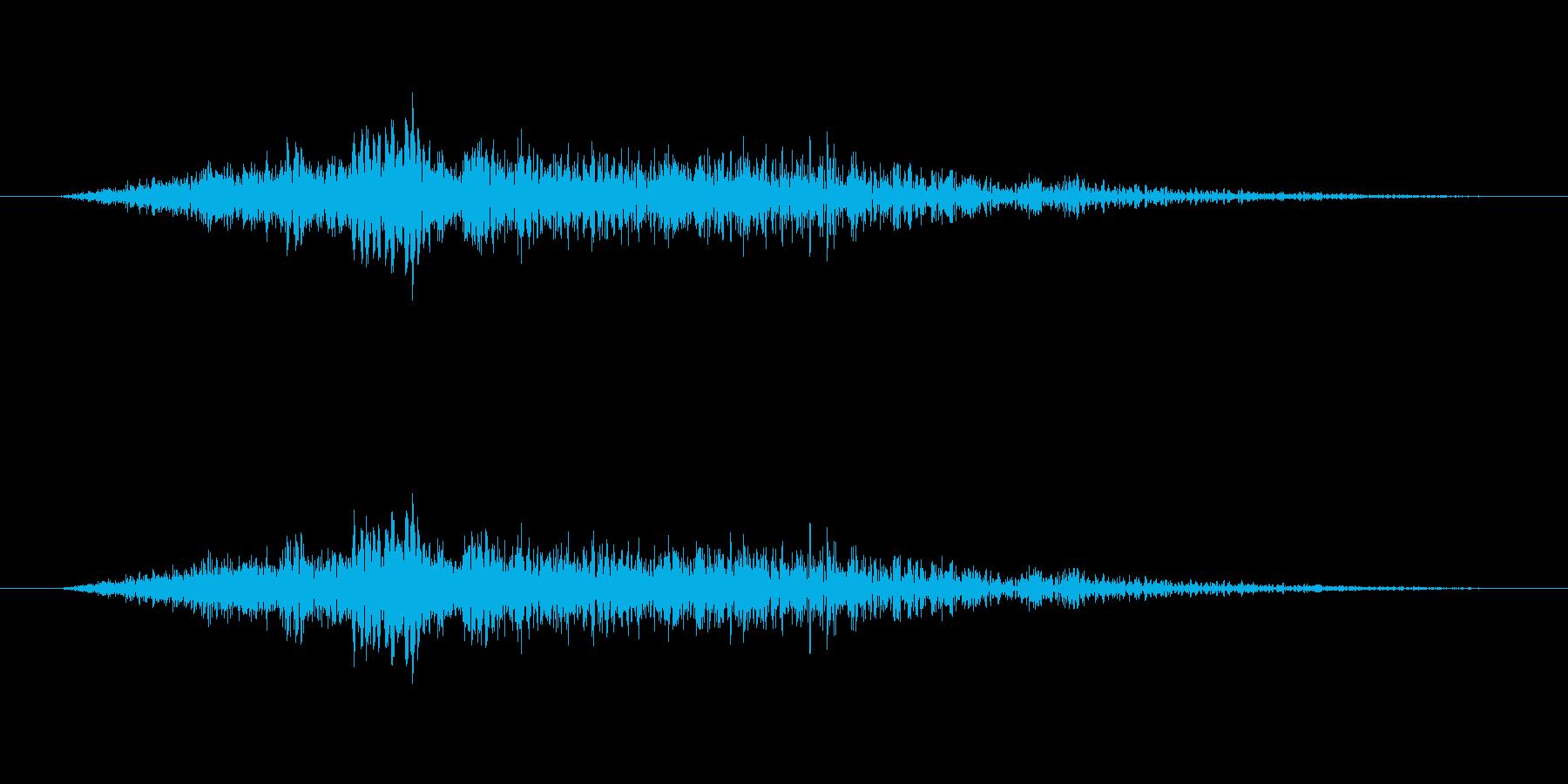 びゅおんの再生済みの波形