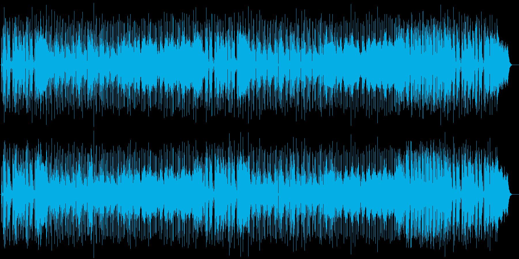 天気の良い日に聞きたい爽快なポップ曲の再生済みの波形