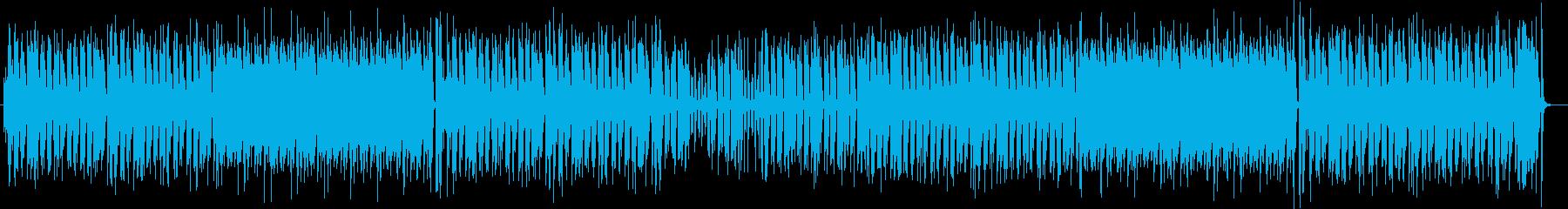 軽快で爽やかな木琴ミディアムポップスの再生済みの波形
