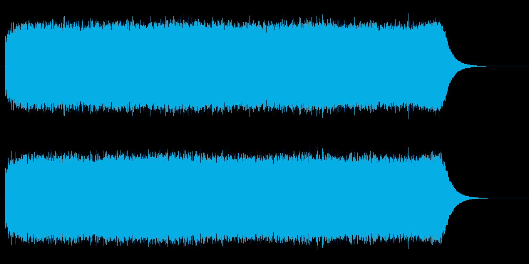 ビーーーーーーーーーーーという耳障りな音の再生済みの波形