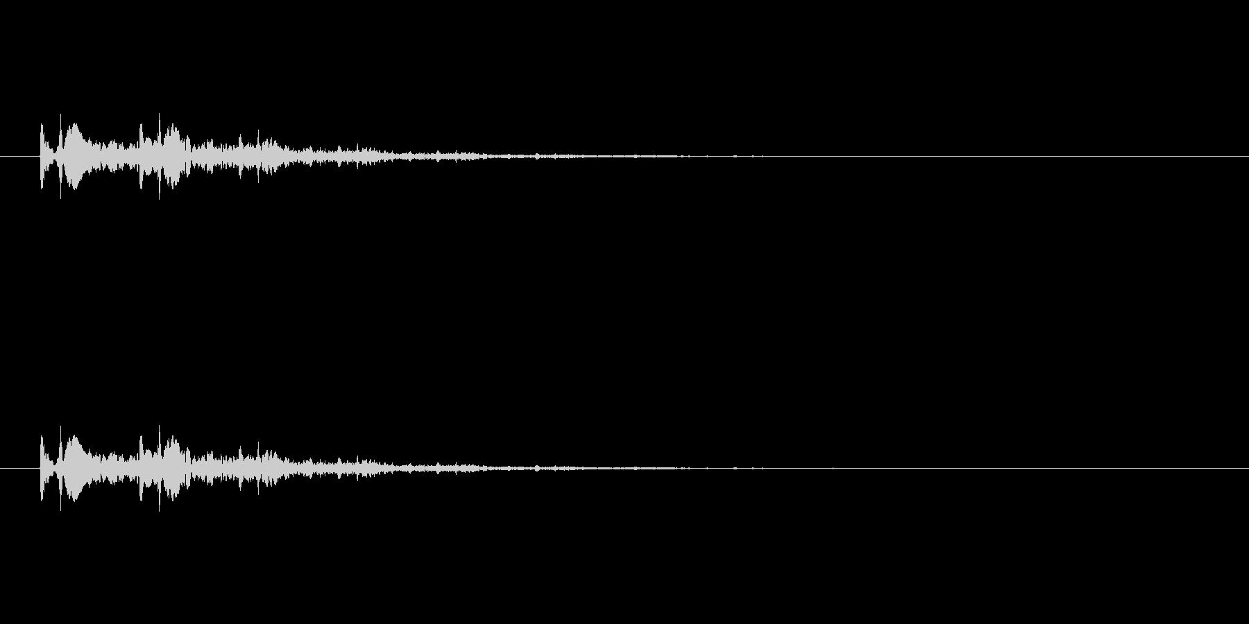 【光る07-2】の未再生の波形