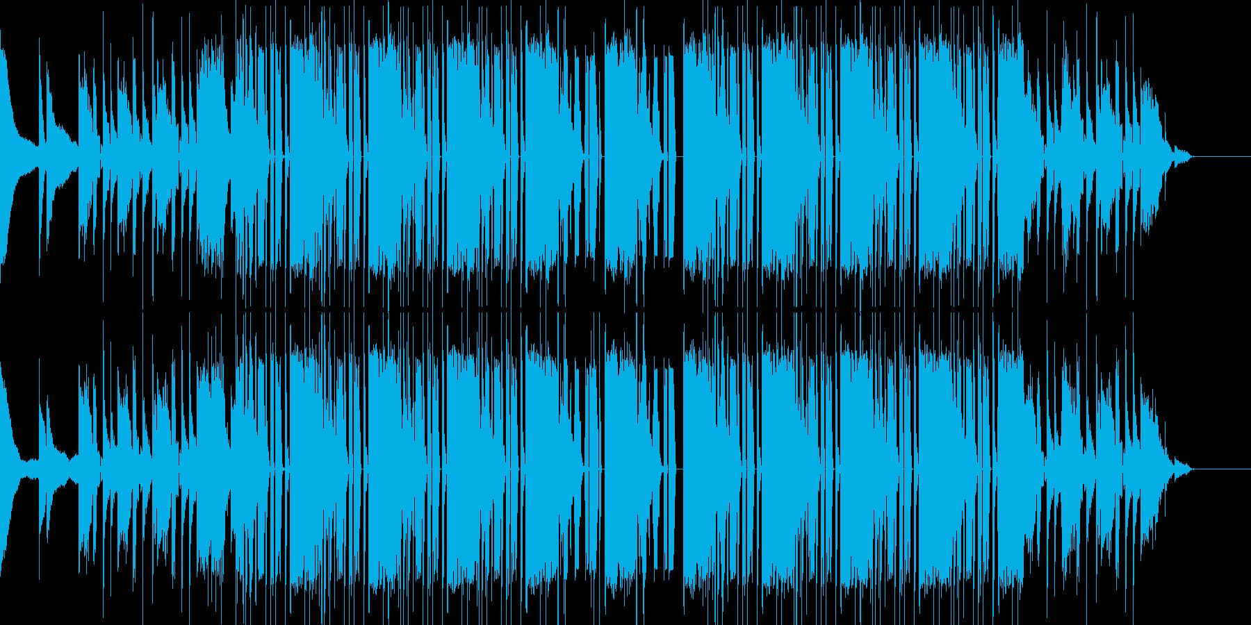ヒップホップ ビート モダンの再生済みの波形