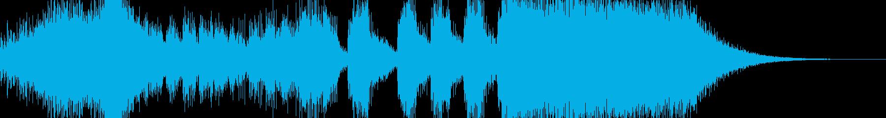 トランペットメインのジングルです。の再生済みの波形