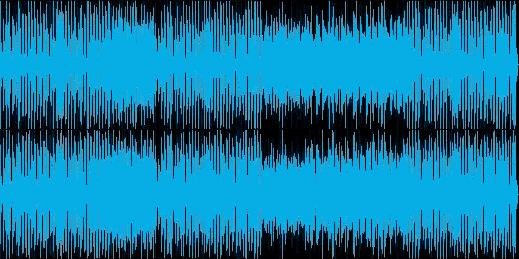 ほのぼの牧歌的で軽やかなインスト曲の再生済みの波形
