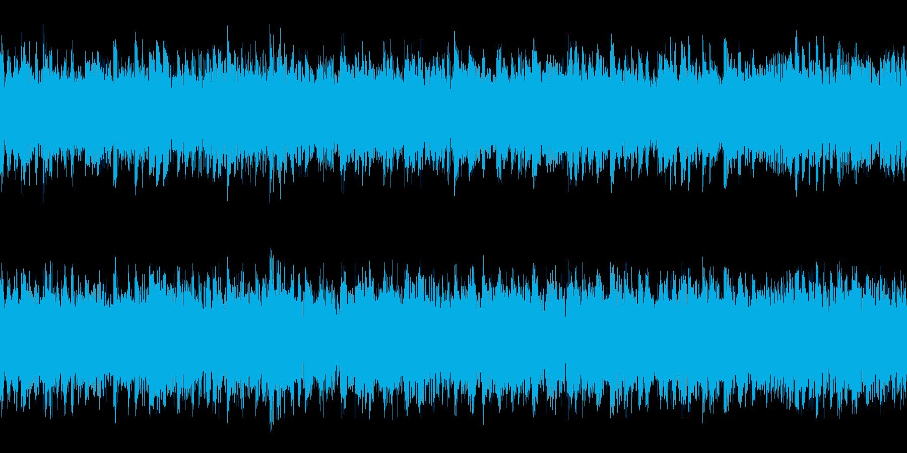 テクノ ループ 汚い系の再生済みの波形