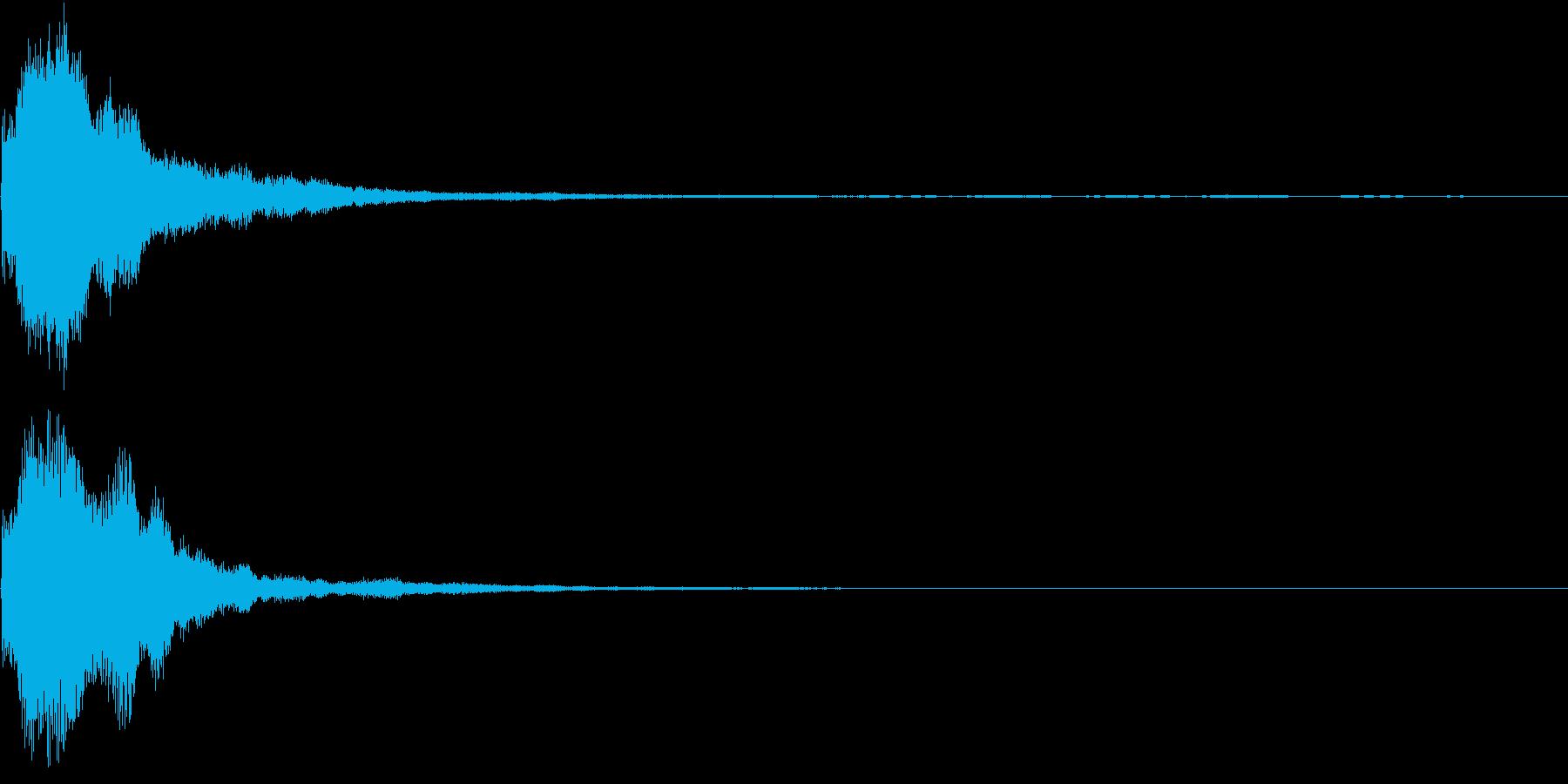 キラキラ 発見 見つける 発明 開始 3の再生済みの波形