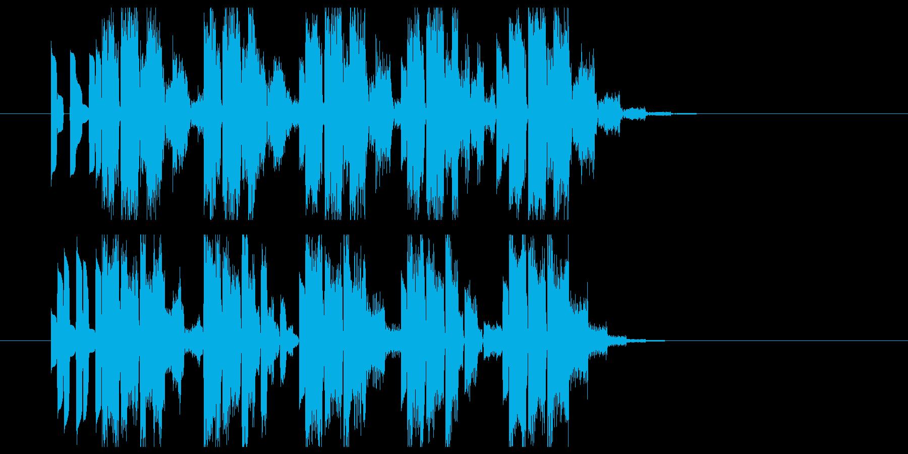 サイバー系CM,ジングルロゴ等デジタル系の再生済みの波形