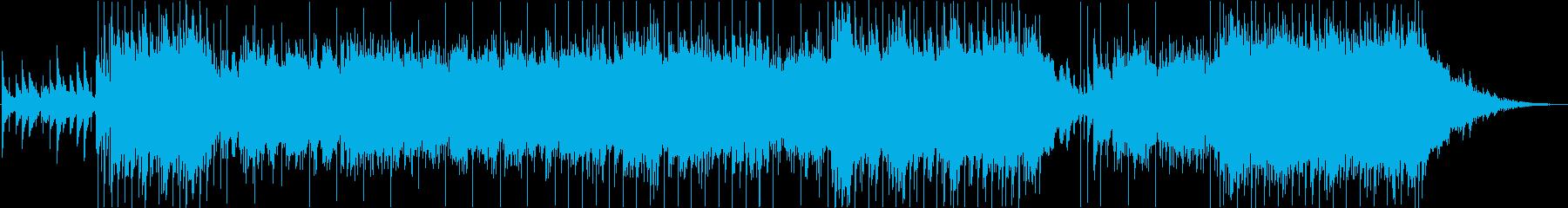 アヴェ・マリアのバンドアレンジの再生済みの波形