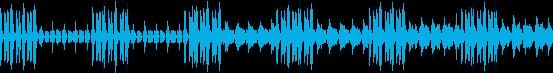おかしな人みたいな曲(ループ仕様)の再生済みの波形
