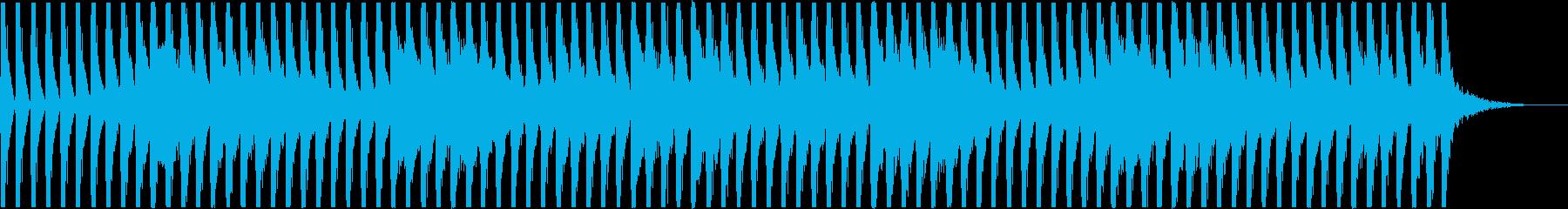 不思議な四つ打ち-Aの再生済みの波形