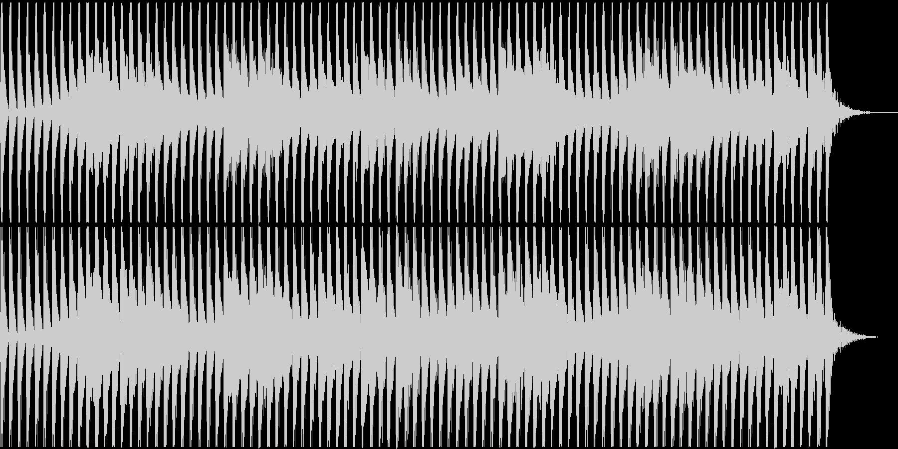 不思議な四つ打ち-Aの未再生の波形