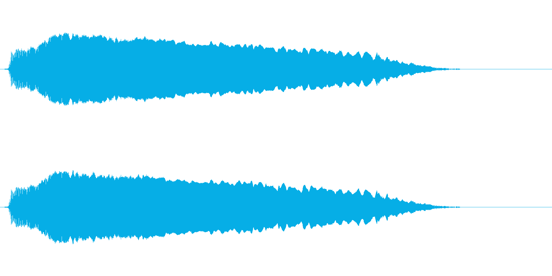 「ホーーー」歌舞伎や能や狂言の掛け声FXの再生済みの波形