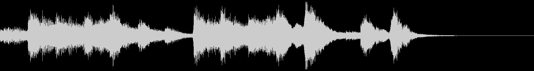 ハロウィン系ジングル4の未再生の波形