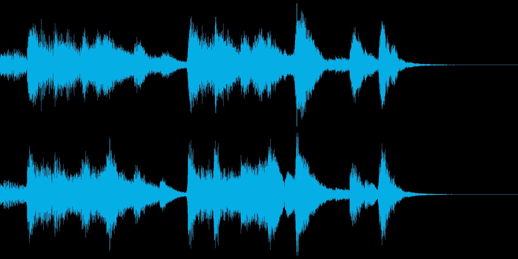 ハロウィン系ジングル4の再生済みの波形