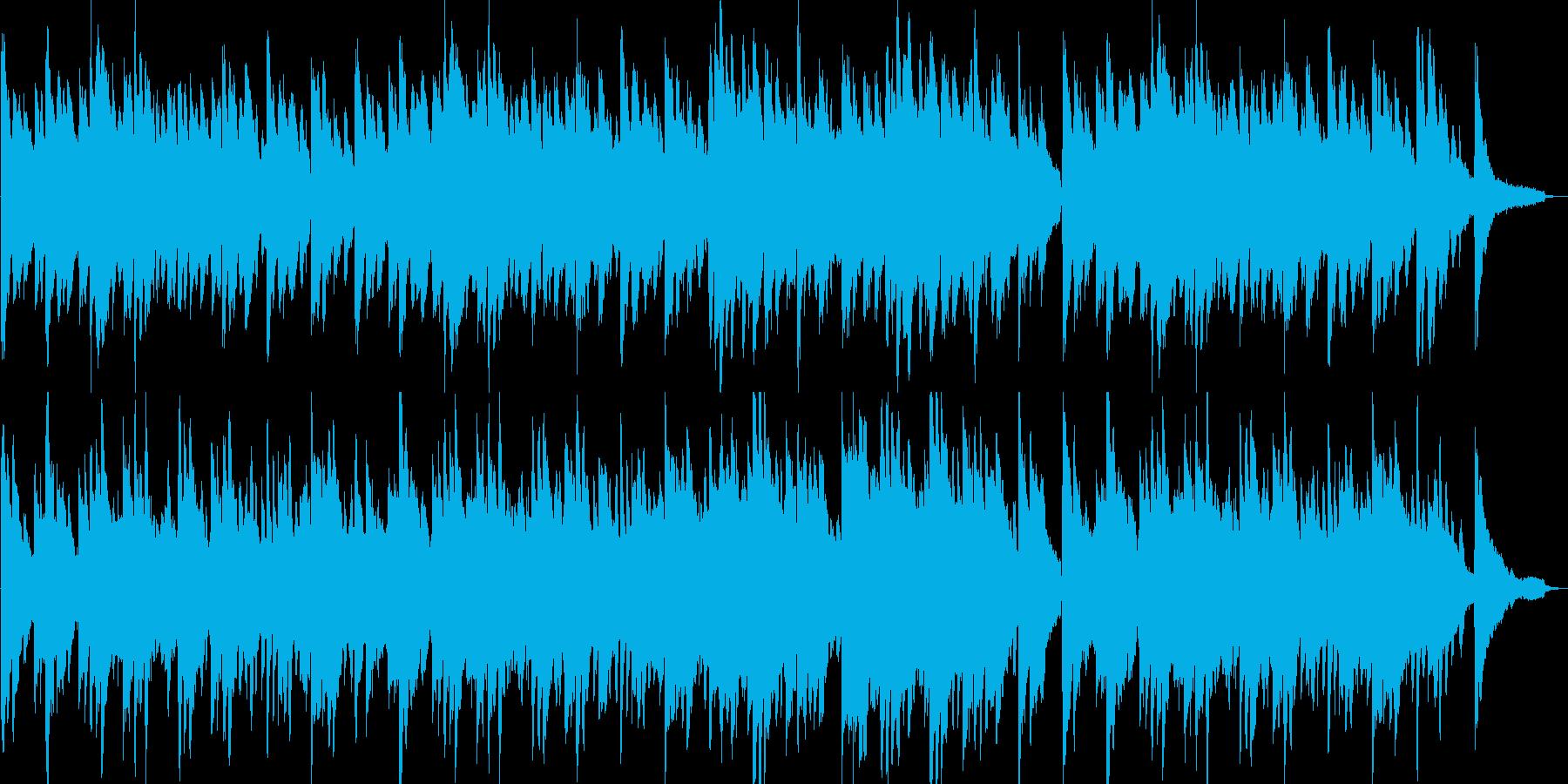 温かい・感動的・ピアノ・映像・イベント用の再生済みの波形