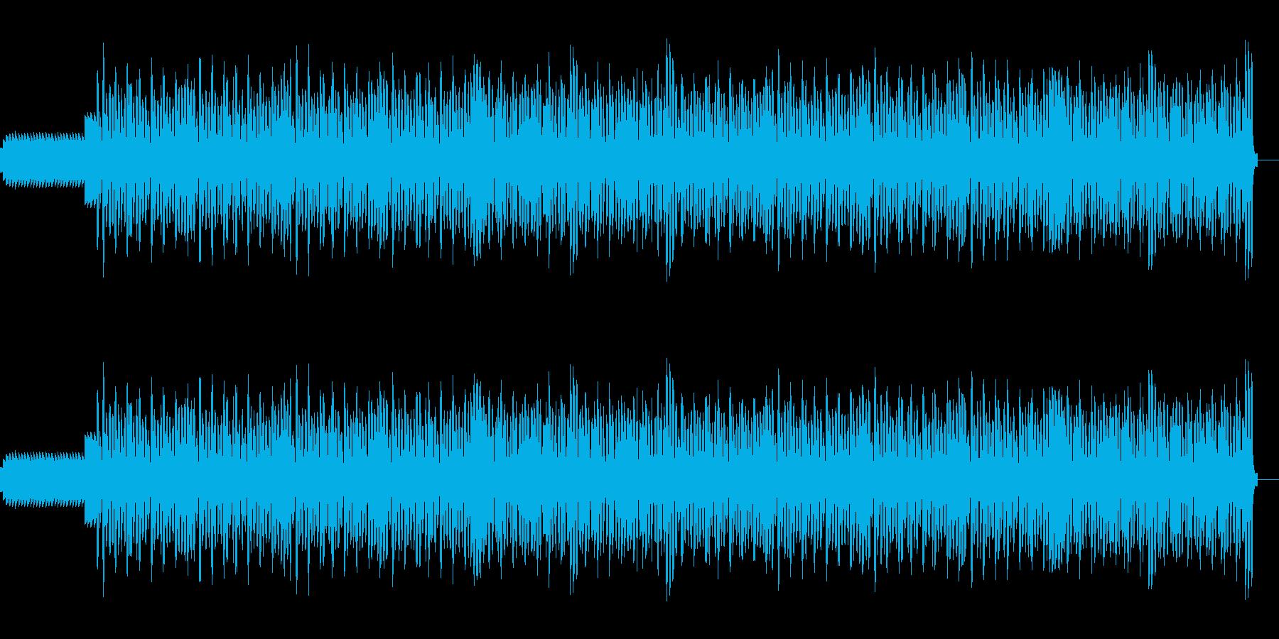 勢いのある曲です。の再生済みの波形