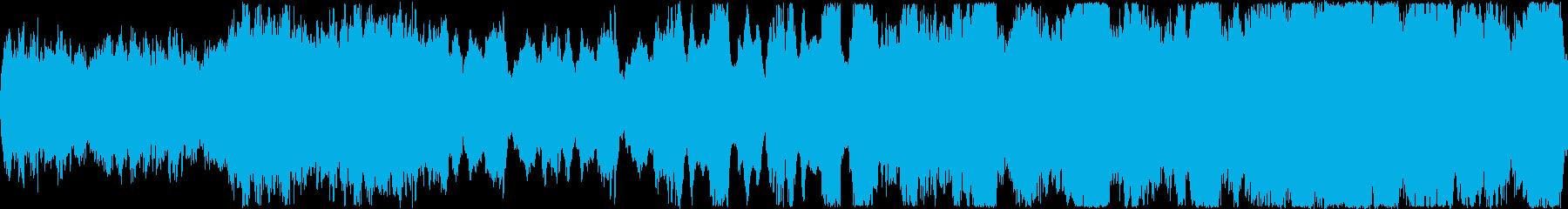 ファンタジー風のオーケストラ&ボーカル…の再生済みの波形