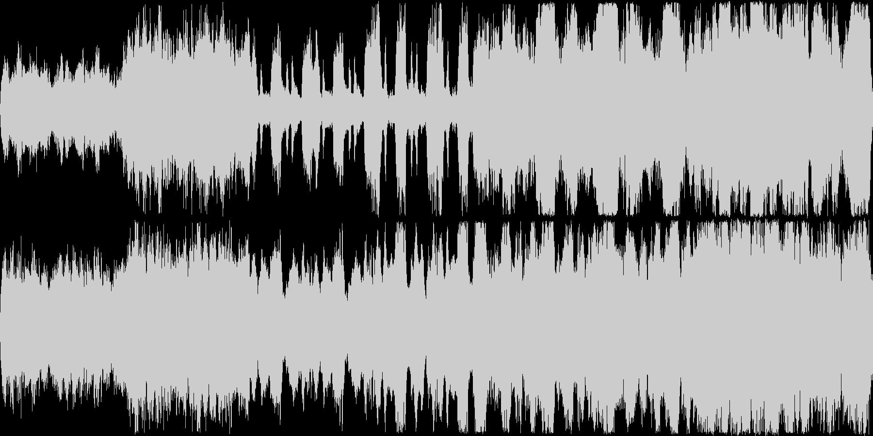 ファンタジー風のオーケストラ&ボーカル…の未再生の波形