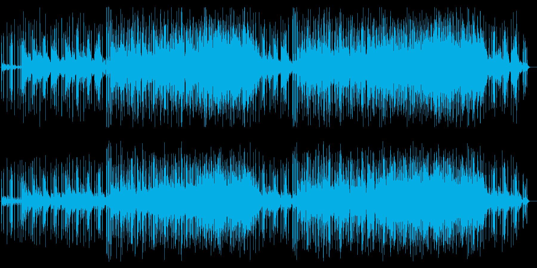 のどかなアコースティックポップの再生済みの波形