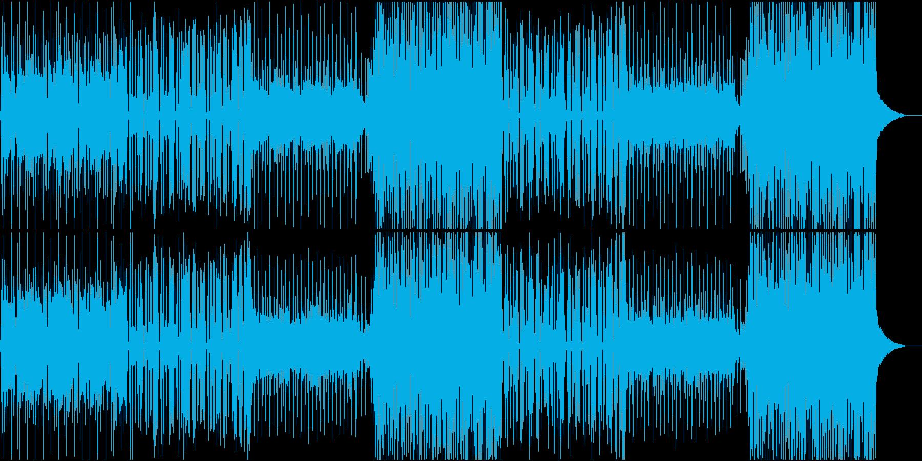 おしゃれなFuture bass EDMの再生済みの波形
