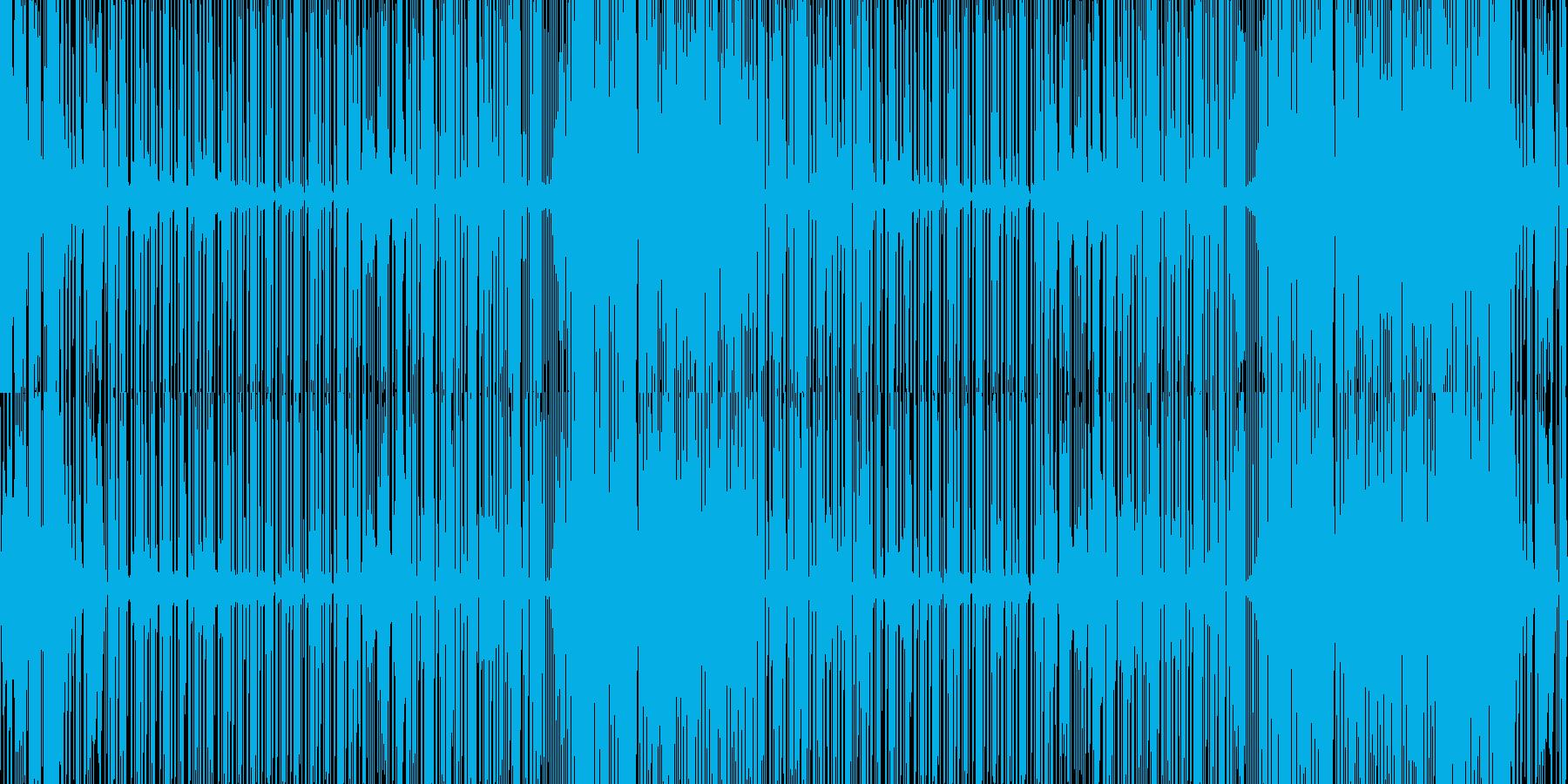思わず踊ってしまう SynthMusicの再生済みの波形